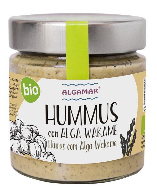 algamar hummus con alga wakame