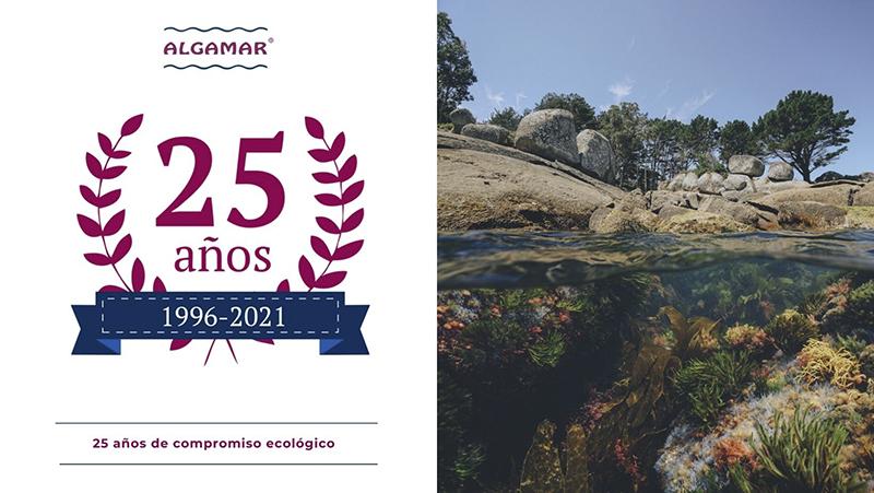 ALGAMAR 25 años de compromiso ecológico