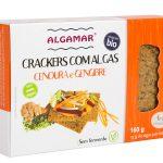 Cracker Cenoura e Gengibre