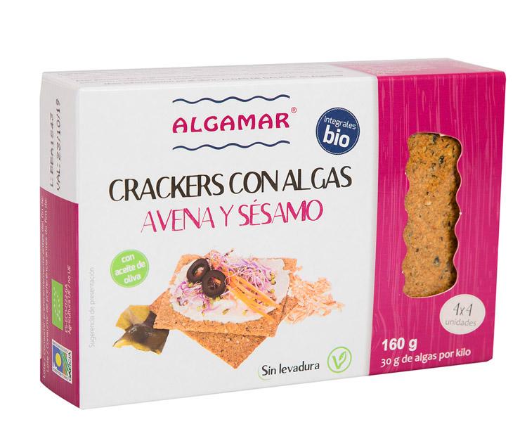Crackers Avena y Sésamo