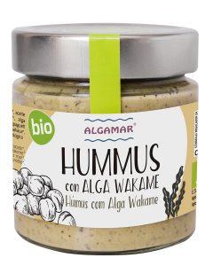 novedades algamar hummus con alga wakame